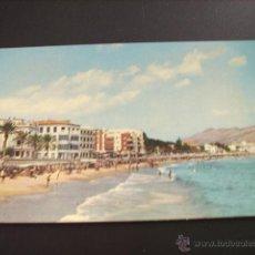 Postales: BENIDORM (ALICANTE) VISTA PARCIAL PLAYA DE LEVANTE. Lote 44962553