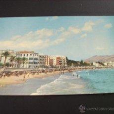 Postales: BENIDORM (ALICANTE) VISTA PARCIAL PLAYA LEVANTE. Lote 44963644
