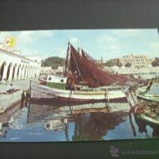 Postales: BENICARLO (CASTELLON) VISTA PARCIAL DEL PUERTO. Lote 45006207
