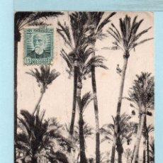 Postales: 1128 POSTAL DE ELCHE BOSQUE DE PALMERAS CIRCULADA EDICIÓN L. ROISEN VER FOTO. Lote 45037103