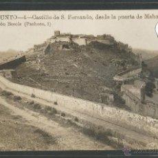 Postales: SAGUNTO - 4 - CASTILLO DE SAN FERNANDO DESDE LA PUERTA DE MAHOMA - ED. BESOLS - FOTOGRAFICA - (24208. Lote 45174443