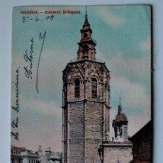 Postales: TARJETA POSTAL CIRCULADA DE 1909, VALENCIA. CADETRAL, EL MIGUETE. Lote 45265985