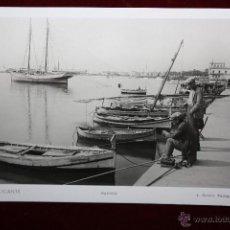 Postales: ANTIGUA FOTO POSTAL DE ALICANTE. PUERTO. FOT. L. ROISIN. SIN CIRCULAR. Lote 45309330