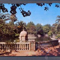 Postales: CASTELLON DE LA PLANA. ESTANQUE. PARQUE DE RIBALTA. Lote 45658598