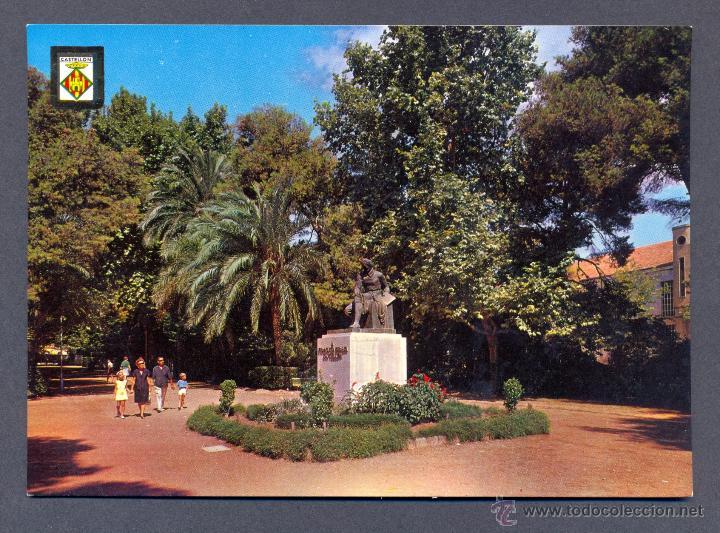 CASTELLON DE LA PLANA. PARQUE DE RIBALTA (Postales - España - Comunidad Valenciana Moderna (desde 1940))