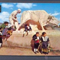 Postales: CASTELLON DE LA PLANA. MONUMENTO A PEROT DE GRANYANA. Lote 45658660
