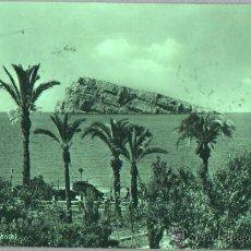 Postales: POSTAL DE BENIDORM - ALICANTE - PANORAMA - Nº 105 DE FOTO MARVELLI - 1959. Lote 45692108