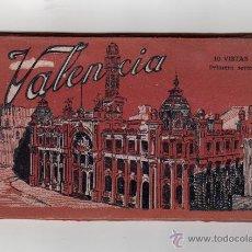 Postales: VALENCIA. 10 VISTAS. PRIMERA SERIE. FOT. L. ROISIN. 10 POSTALES EN ACORDEÓN. BLOC POSTAL. Lote 45723736