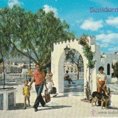 Postales: Nº 14137 POSTAL BENIDORM ALICANTE PLAZA DEL CASTILLO. Lote 45840980