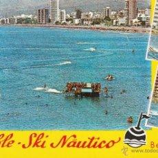 Postales: Nº 14165 POSTAL BENIDORM ALICANTE CABLE SKI NAUTICO. Lote 45840985