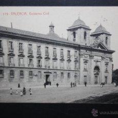 Postales: ANTIGUA POSTAL DE VALENCIA. GOBIERNO CIVIL. FOTPIA. THOMAS. CIRCULADA. Lote 45843700