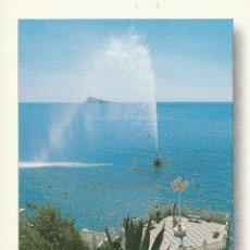 Postales: Nº 14739 POSTAL BENIDORM ALICANTE CASTILLO GEISER Y L,ILLA. Lote 45953603