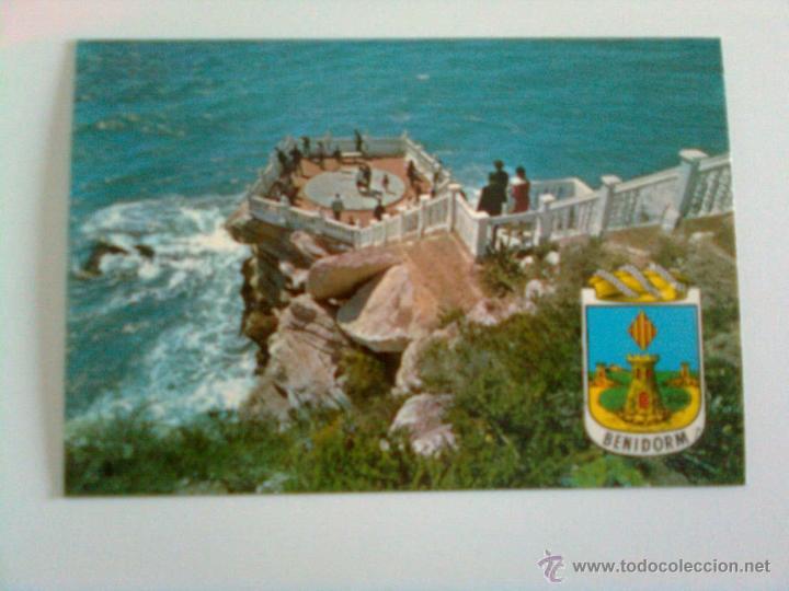 BENIDORM: PLAZOLETA DEL CASTILLO (Postales - España - Comunidad Valenciana Moderna (desde 1940))