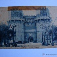 Postales: POSTAL ANTIGUA. VALENCIA. SIN CIRCULAR. TORRE DE SERRANOS. Lote 46005133