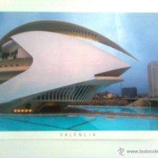 Postales: VALENCIA: PALACIO DE LAS ARTES REINA SOFÍA. Lote 46023850