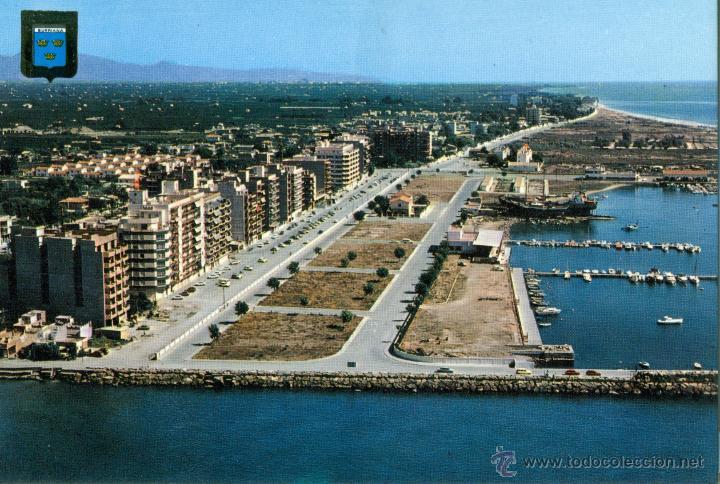 Burriana vista aerea del puerto comprar postales de la - Puerto burriana ...