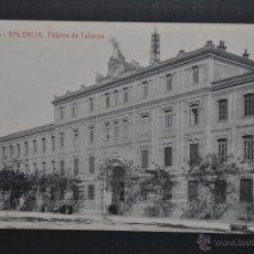 Postales: ANTIGUA POSTAL DE VALENCIA. FABRICA DE TABACOS. FOTPIA. THOMAS. SIN CIRCULAR. Lote 46246099