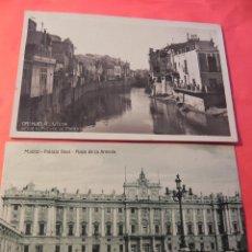 Postales: 2 ANTIGUAS POSTALES. ORIHUELA Y MADRID. SIN CIRCULAR. (FP00034). Lote 46251579