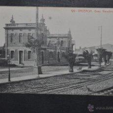 Postales: ANTIGUA POSTAL DE VALENCIA. GRAO, VARADERO PUBLICO. FOTPIA. THOMAS. SIN CIRCULAR. Lote 46284832