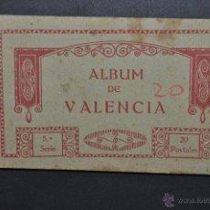 Postales: CARNET POSTAL DE VALENCIA. 5ª SERIE. FOTPIA. THOMAS. 20 TARJETAS. Lote 194548972