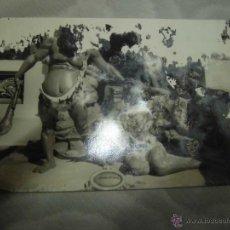 Postales: FALLAS DE VALENCIA 1957 FOTO FALLA ALGO DETERIORADA MUY BONITA. Lote 46342644