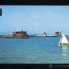 Postales: POSTAL DE BURRIANA: VISTA PARCIAL DEL PORT (ED. COMAS ALDEA 23). Lote 46366513