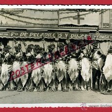 Postales: POSTAL ALCOY , ALICANTE, FILAES MOROS Y CRISTIANOS , FOTO PALACIO , FOTOGRAFICA , ORIGINAL, P97117. Lote 46405115