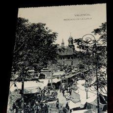 Cartoline: POSTAL DE VALENCIA, MERCADO DE LA LONJA, ED. HAUSER Y MENET, NO CIRCULADA.. Lote 209719686