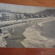 Postales: POSTAL ALICANTE BENIDORM VISTA PARCIAL Y PLAYA DE LEVANTE. Lote 46880262