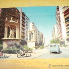 Postales: ALCIRA ( VALENCIA ) AVENIDA SANTOS PATRONOS. Lote 47051837