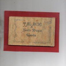 Postales: GANDIA. PALACIO DEL DUQUE. BLOC DE 23 POSTALES. FALTA LA Nº 19. A. FABERT. Lote 47058082