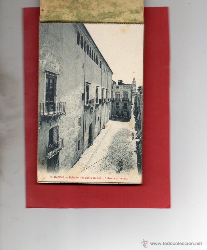 Postales: gandia. palacio del duque. bloc de 23 postales. falta la nº 19. a. fabert - Foto 2 - 47058082