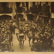 Postales: MORELLA (CASTELLON) - FIESTAS - FOTOGRAFICA SIN CIRCULAR Y DORSO DIVIDIDO. Lote 47068250