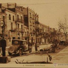 Postales: VINAROZ (CASTELLON) - CALLE DOZAL - FOTOGRAFIA IMPRESA SIN CIRCULAR Y DORSO DIVIDIDO. Lote 47068282