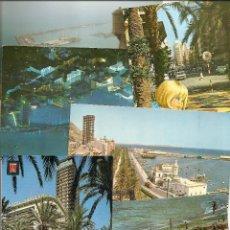 Postales: LOTE 6 POSTALES DE ALICANTE. VER LISTADO Y FOTOGRAFÍAS.. Lote 47268786