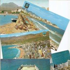 Postales: LOTE 5 POSTALES DE BENIDORM (ALICANTE). VER LISTADO Y FOTOGRAFÍAS.. Lote 47269242