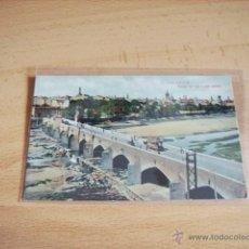 Postales: VALENCIA -- PUENTE DEL MAR Y VISTA GENERAL --. Lote 47312935