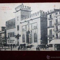 Postales: ANTIGUA POSTAL DE VALENCIA. LONJA DE LA SEDA. FOTPIA. THOMAS. CIRCULADA. Lote 47671258