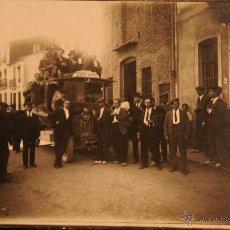 Postales: SEGORBE - AUTOBUS A SAGUNTO - LA SEGORBINA - FOTOGRAFICA SIN CIRCULAR Y DORSO DIVIDIDO. Lote 47704948