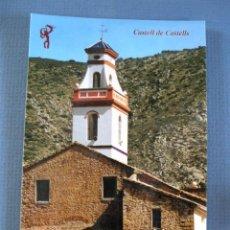 Postales: POSTAL DE CASTELL DE CASTELLS (ALICANTE) - IGLESIA SIGLO XVII - SIN CIRCULAR, AÑOS 90. Lote 57788053