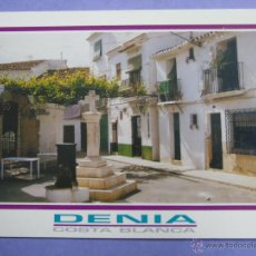 Postcards - POSTAL DE ALICANTE. AÑO 1994 DENIA, PLACETA DE LA CREU. 56 - 48425646