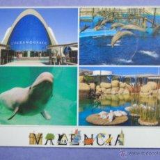 Postales: POSTAL DE VALENCIA. AÑO 2007. CIUDAD DE LAS CIENCIAS. OCEANOGRÁFICO, DELFINES. 147. Lote 48426258