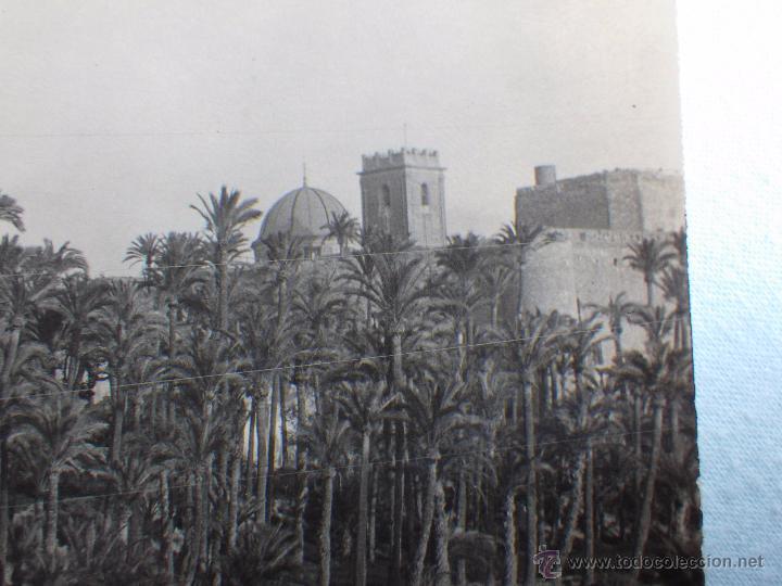 Postales: ELCHE HUERTO DE BAIX. POSTAL FOTOGRÁFICA. FABRICACIÓN ESPAÑOLA. CIRCULADA 1927 - Foto 2 - 48636004