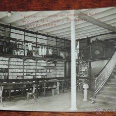 Postales: FOTO POSTAL DE VINAROZ, CASTELLON, ESTABLECIMIENTO DE ANGEL GINER, MERCERIA, QUINCALLA Y FERRETERIA,. Lote 48809311