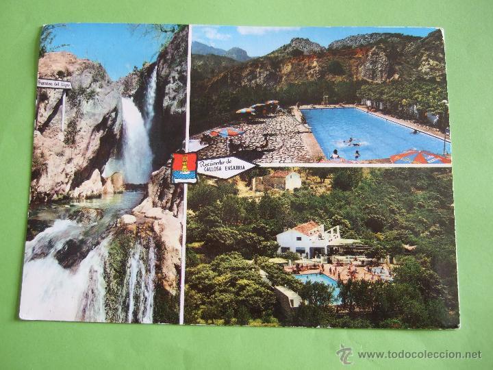Postal alicante callosa de ensarria fuentes comprar postales de la comunidad valenciana en - Restaurante mi casa alicante ...