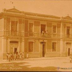 Postales: PATERNA - VALENCIA - ESCUELAS MUNICIPALES - FOTOGRAFIA IMPRESA SIN CIRCULAR Y DORSO DIVIDIDO. Lote 48965175