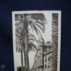 Postales: POSTAL 41 ALICANTE VISTA TOMADA DESDE EL POSTIGUET L. ROISIN CIRCULADA 1932. Lote 49125745