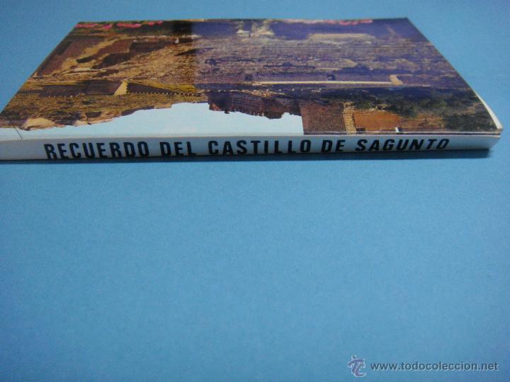 Postales: ACORDEON DE POSTALES DE SAGUNTO. VALENCIA. AÑO 1976. LIBRILLLO CON 10 POSTALES. POSTAL POBLACIÓN - Foto 2 - 49149426