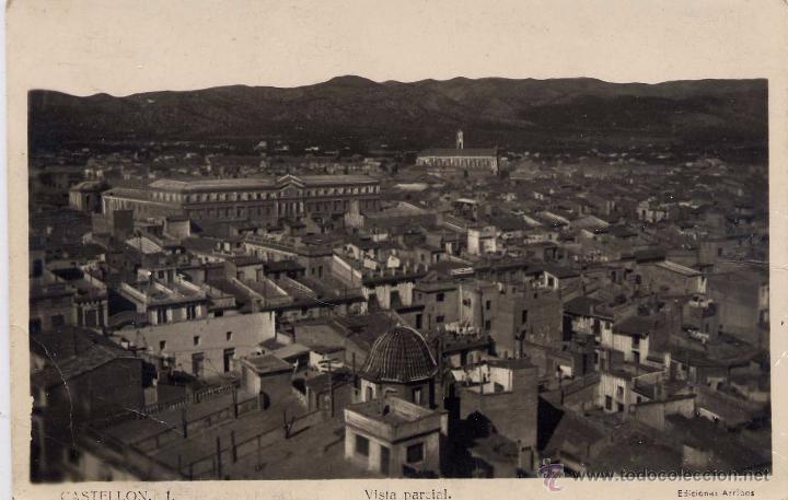 CASTELLÓN.- VISTA PARCIAL. (Postales - España - Comunidad Valenciana Moderna (desde 1940))