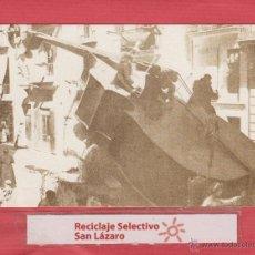 Postales: POSTAL SERIE FALLAS 1901-1910-PLAZA SAN MIGUEL-CRÍTICA GÉNERO CHICO-ED.1987-JOSÉ HUGUET-F2. Lote 49425855